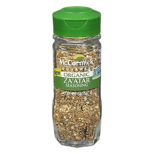 Picture of McCormick Gourmet Organic Zaatar - 1.25 Oz