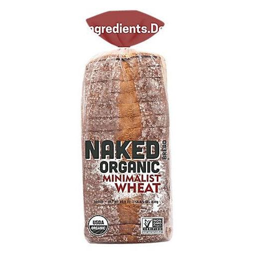 Picture of Naked Bread Organic Sandwich Bread Minimalist Wheat - 22.5 Oz