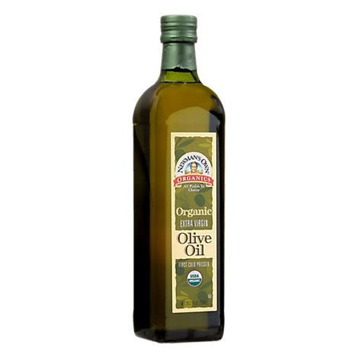 Picture of Newmans Own Organics Oil Olive Extra Virgin - 25.3 Fl. Oz.