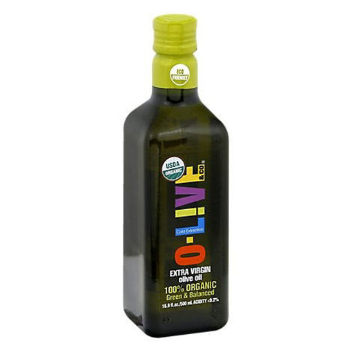 Picture of O-Live & Co Olive Oil Organic Extra Virgin - 16 Fl. Oz.