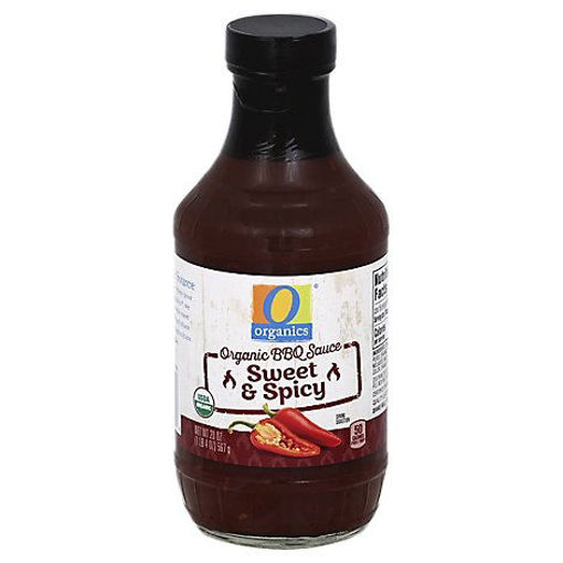 Picture of Organic BBQ Sauce Sweet & Spicy - 20 Oz