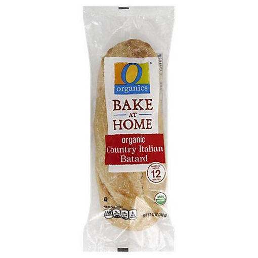 Picture of Organic Bread Batard Country Italian - Each