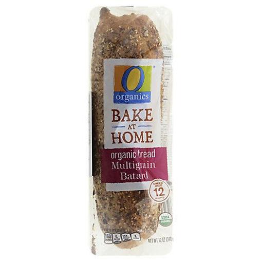 Picture of Organic Bread Batard Multigrain - Each