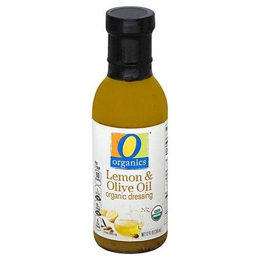 Picture of Organic Dressing Lemon & Olive Oil - 12 Fl. Oz.