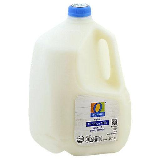 Picture of Organic Fat Free Milk - 1 Gallon