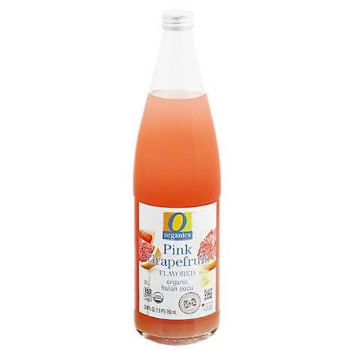 Picture of Organic Grapefruit Soda Italian Pink - 750 Ml