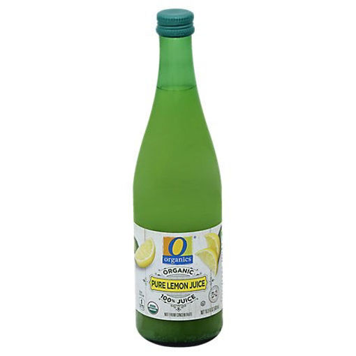 Picture of Organic Juice Lemon Pure 100% - 16.9 Fl. Oz.