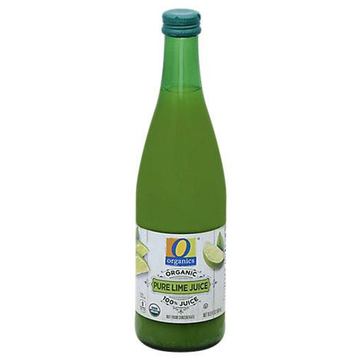 Picture of Organic Juice Lime Pure 100% - 16.9 Fl. Oz.