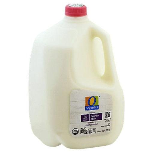 Picture of Organic Milk Low Fat 1% Milkfat - 1 Gallon