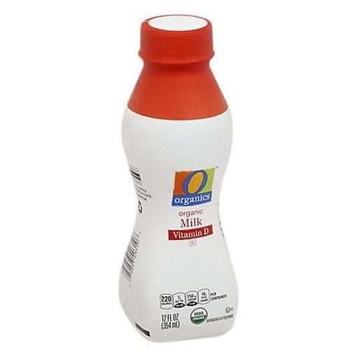 Picture of Organic Milk Vitamin D Ultra Pasteurized - 12 Fl. Oz.