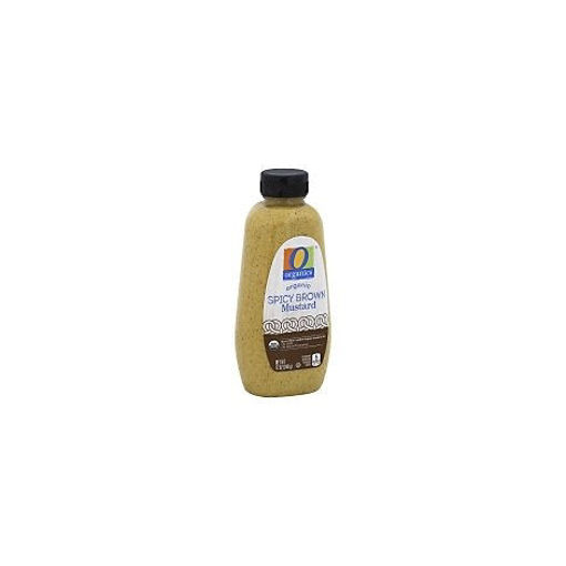 Picture of Organic Mustard Spicy Brown Bottle - 12 Oz