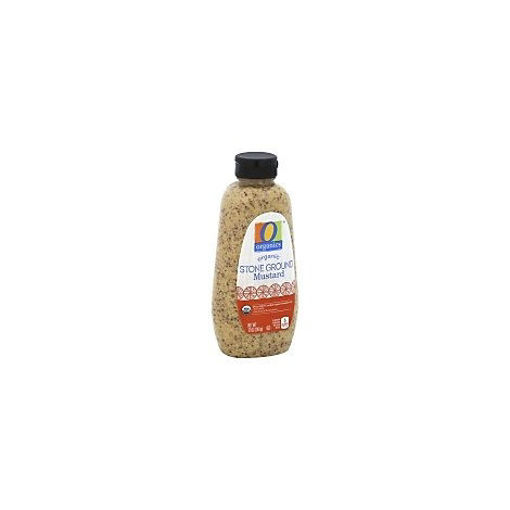 Picture of Organic Mustard Stone Ground Bottle - 12 Oz