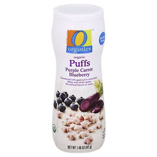 Picture of Organic Puffs Purple Carrot Blueberry - 1.48 Oz