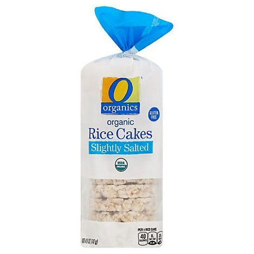 Picture of Organic Rice Cake Slightly Salted Bag - 4.9 Oz