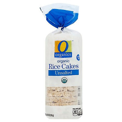 Picture of Organic Rice Cake Unsalted Bag - 4.9 Oz
