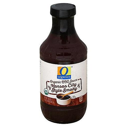Picture of Organic Sauce BBQ Kansas City Style Smoky Bottle - 19.8 Oz