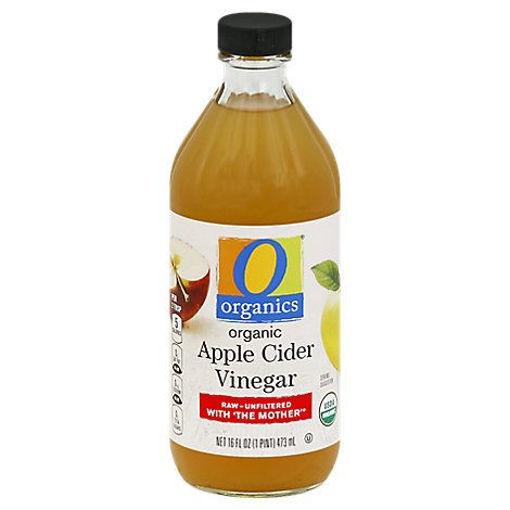 Picture of Organic Vinegar Apple Cider - 16 Fl. Oz.