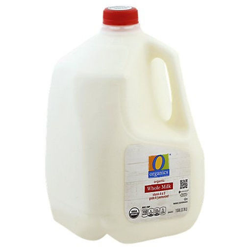 Picture of Organic Whole Milk with Vitamin D - 1 Gallon