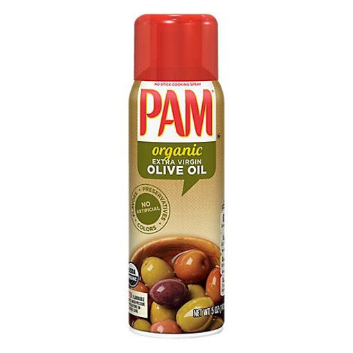 Picture of PAM Cooking Spray Organic Olive Oil - 5 Oz