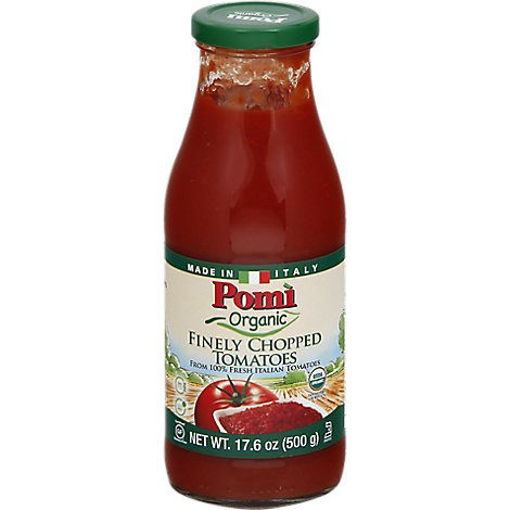 Picture of Pomi Organic Tomatoes Finely Chopped - 17.6 Oz