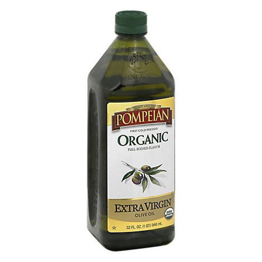 Picture of Pompeian Olive Oil Organic Extra Virgin Full-Bodied Flavor - 32 Fl. Oz.