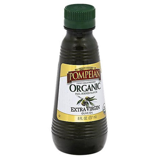 Picture of Pompeian Organic Extra Virgin Olive Oil - 8 Fl. Oz.