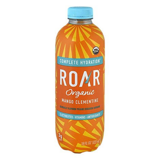 Picture of ROAR Organic Electrolyte Infusions Mango Clementine - 18 Fl. Oz.