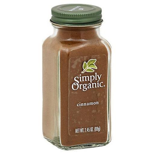 Picture of Simply Organic Cinnamon - 2.45 Oz