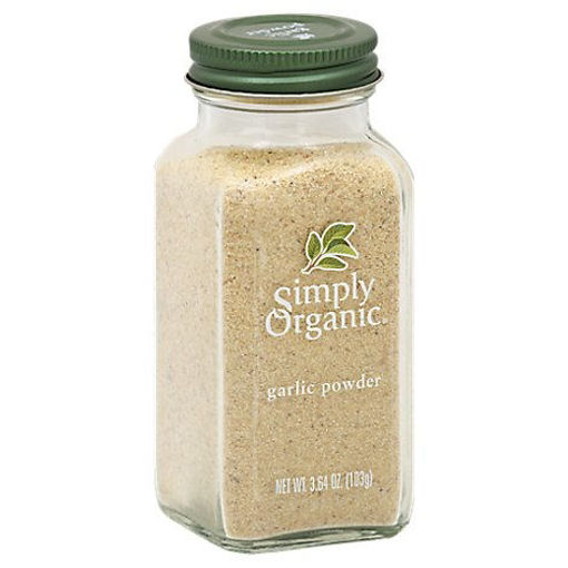 Picture of Simply Organic Garlic Powder - 3.64 Oz