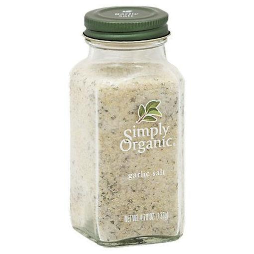 Picture of Simply Organic Garlic Salt - 4.7 Oz