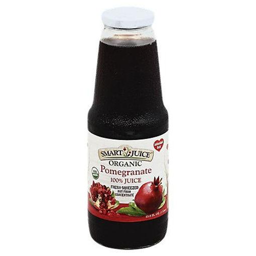 Picture of Smart Juice Organic Pomegranate - 33.8 Fl. Oz.
