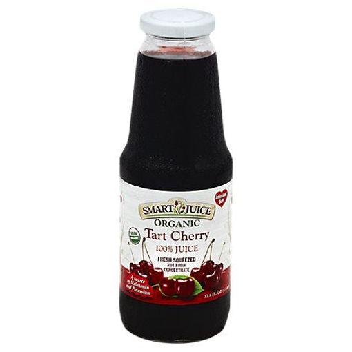 Picture of Smart Juice Organic Tart Cherry - 33.8 Fl. Oz.