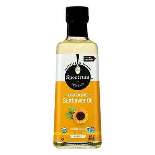 Picture of Spectrum Sunflower Oil Organic High Heat Refined - 16 Fl. Oz.