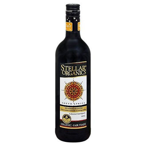 Picture of Stellar Organics Cabernet Sauvignon Wine - 750 Ml