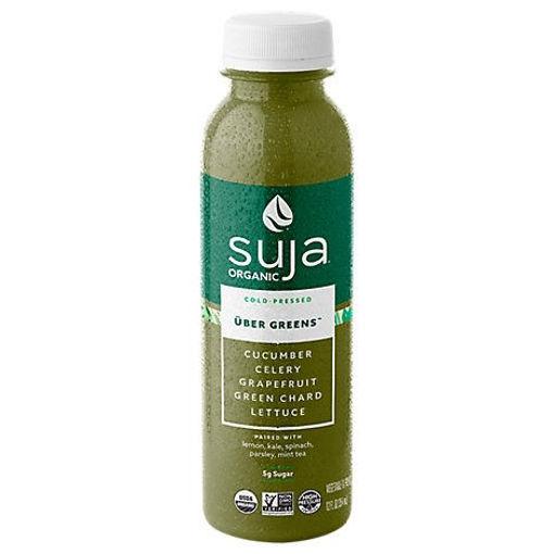 Picture of Suja Organic Juice Cold Pressed Uber Greens - 12 Fl. Oz.