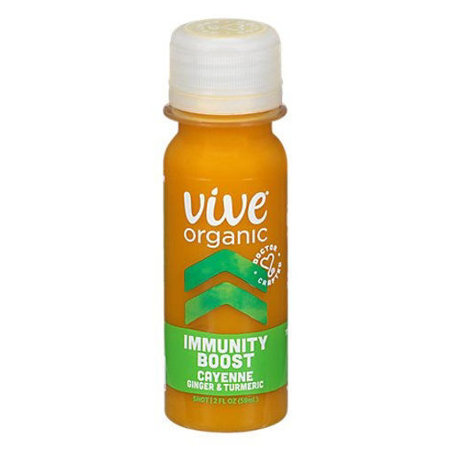 Picture of Vive Organic Immunity Boost Shot With Cayenne - 2 Fl. Oz.