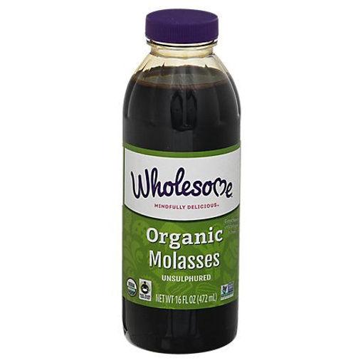Picture of Wholesome Molasses Organic - 16 Oz