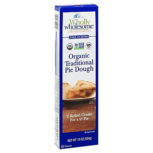 Picture of Wholly Wholesome Pie Dough Organic 9 Inch 2 Count - 16 Oz