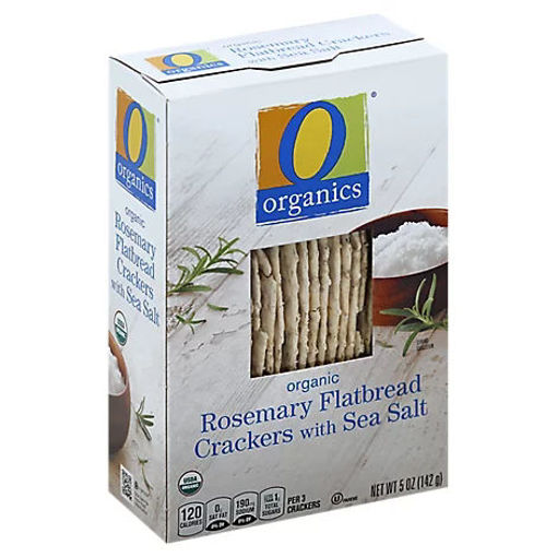 Picture of Crackers Organic Flatbread Rosemary with Sea Salt - 5 Oz