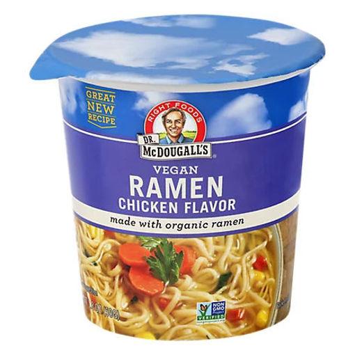 Picture of Dr. McDougalls Soup Organic Vegan Ramen Chicken Flavor - 1.8 Oz