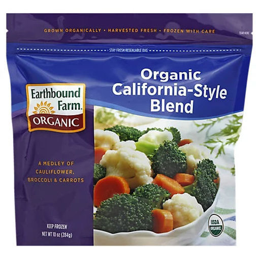 Picture of Earthbound Farm Organic Vegetable Blend California Style - 10 Oz