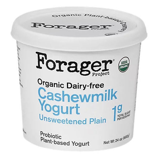 Picture of Forager Project Organic Yogurt Alternative Cashewmilk Dairy Free Unsweetened Plain - 24 Oz
