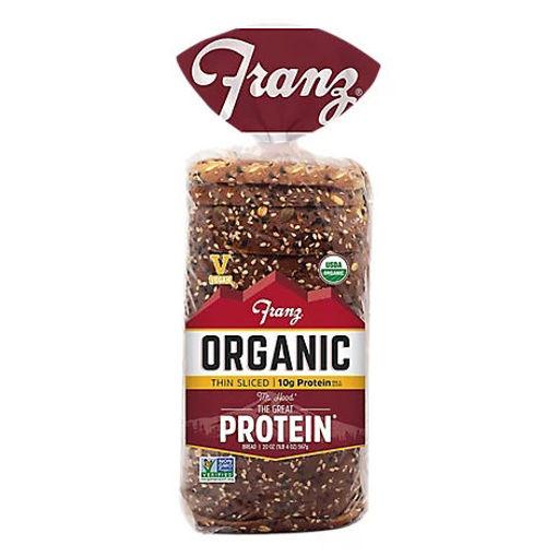 Picture of Franz Organic Protein Bread - 28 Oz