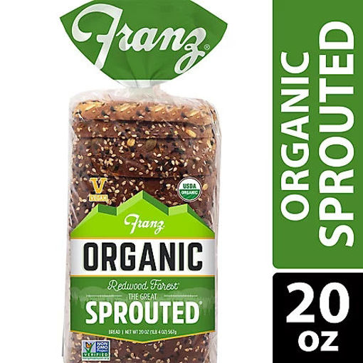 Picture of Franz Organic Sandwich Bread Redwood Forest The Great Sprouted - 20 Oz