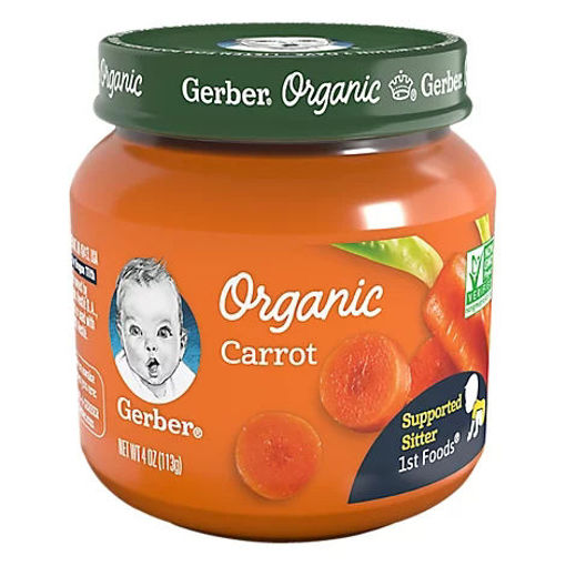 Picture of Gerber 1st Foods Organic Carrot - 4 Oz