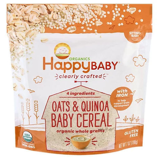 Picture of Happy Baby Organics Ancient Grains Cereal - 7 Oz