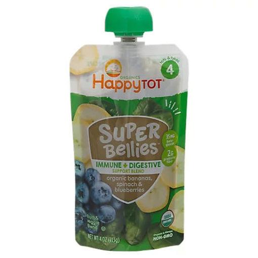 Picture of Happy Tot Organics Super Bellies Immune Plus Digestive Support Blend - 4 OZ