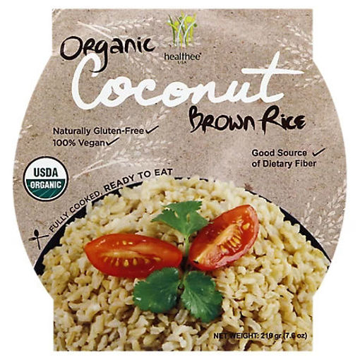 Picture of Healthee Brown Rice Organic Coconut - 7.6 Oz