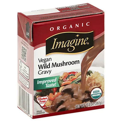 Picture of Imagine Organic Gravy Wild Mushroom - 13.5 Oz