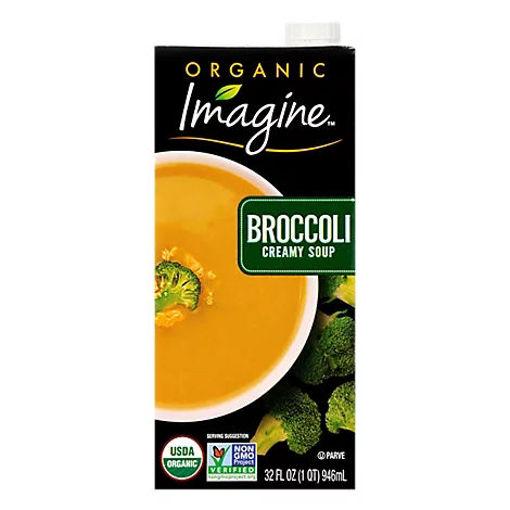 Picture of Imagine Organic Soup Creamy Broccoli - 32 Fl. Oz.